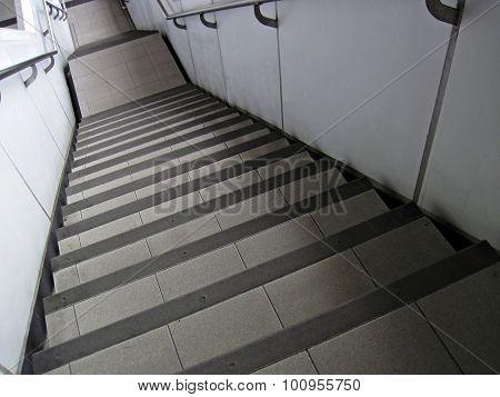 Steep Modern Stairs
