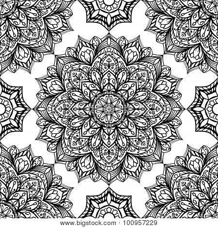 Oriental Vector Pattern.