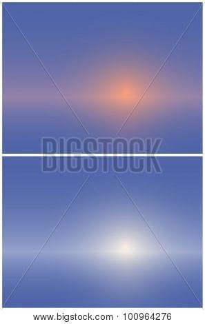 Background Like A Sunset Or Sunrise.