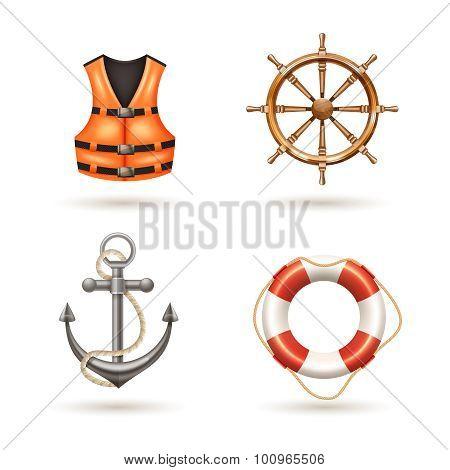 Marine Icons Set