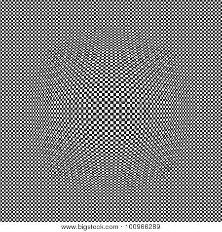 Checkered Background.