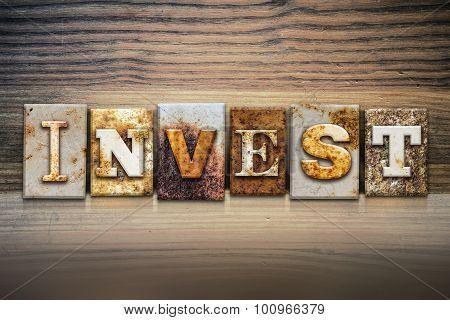 Invest Concept Letterpress Theme