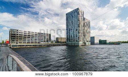 Skyline Modern Buildings Of Almere Stad