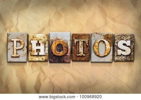 Photos Concept Rusted Metal Type