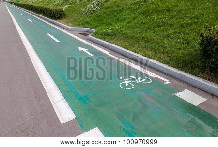 Dedicated Bicycle Lane, Designed To Make Cycling Safer
