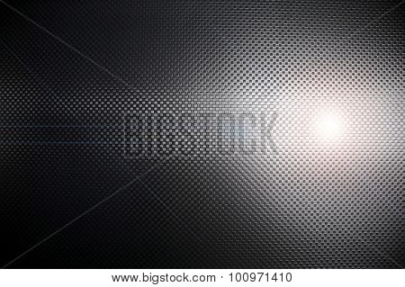 metal mesh with laser background