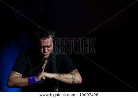 P-Nut of 311 in Concert