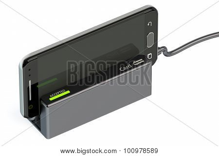 Card Reader With Mobile Phone