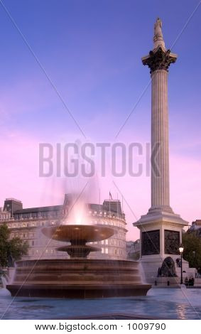 Trafalgar Square Evening
