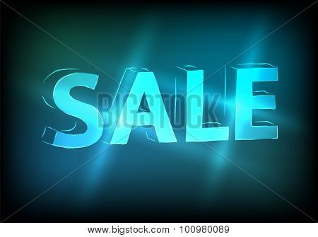 Sale-marketing-effect-neon-background-retro-tv