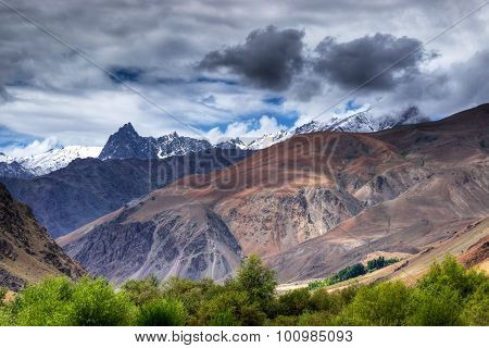 Tiger Hill , Mountain At Drass - Kargil Area, Leh, Ladakh, India