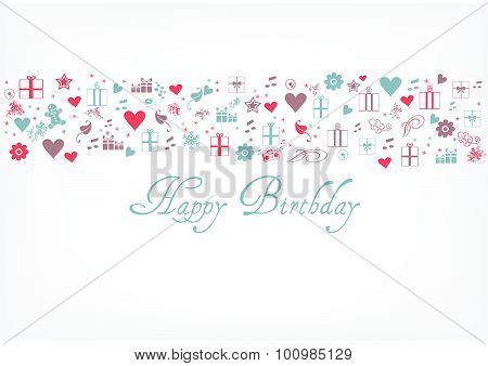 Happy birthday card - greeting card