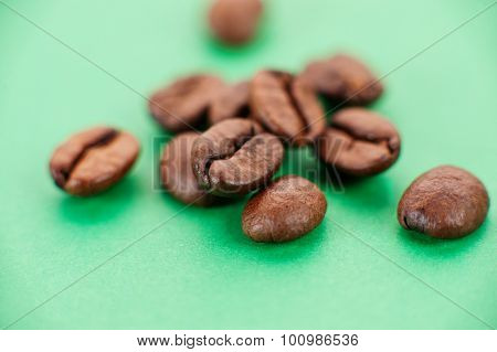 The Grains Of Coffee