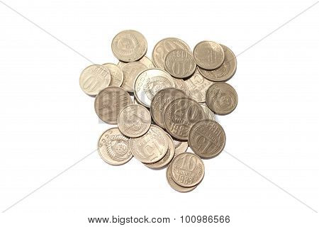 Soviet coins eighties