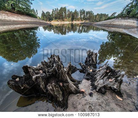 Shallowed Lake