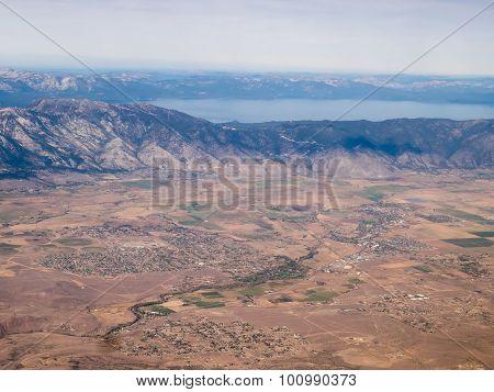 Flight At Lake Tahoe Area