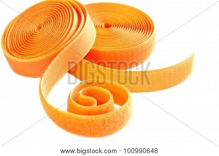 Two Roll Of Orange Velcro