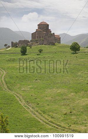 Jvari Monastery. Mtskheta, Georgia