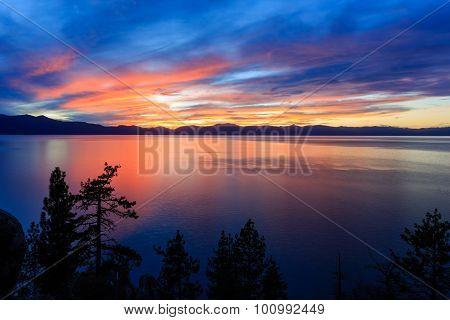 Sunset, Lake Tahoe