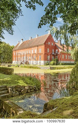Hviderup Slott Through The Trees