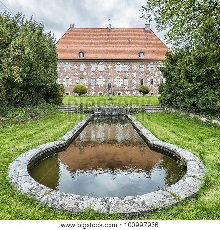 Krapperup Castle And Pond