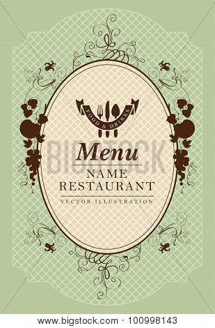 Baroque menu