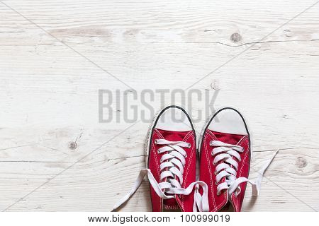 Old Red Shoes