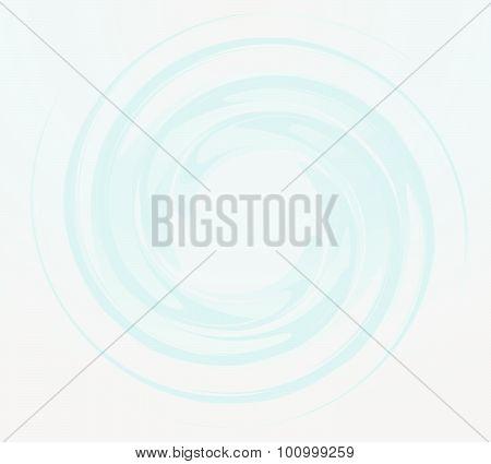 Blue Round Shape