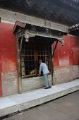 Chinese Man In Forbidden Palace