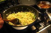 Cooking Risotto