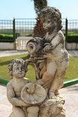 Statue of a children