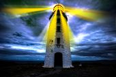 Lighthouse of hope poster