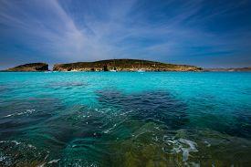 picture of gozo  - blue lagoon Comino island Malta Gozo - JPG