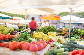 foto of stall  - Farmers