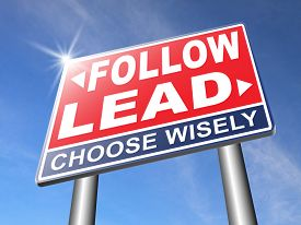image of follow-up  - follow or lead following or catch up the natural leader - JPG