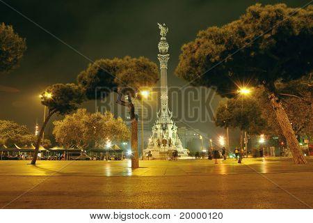 Barcelona-Nacht