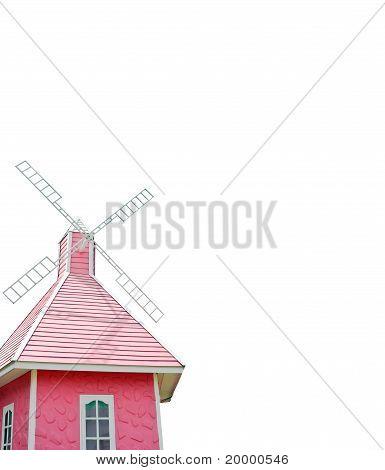 Geïsoleerde windmolen