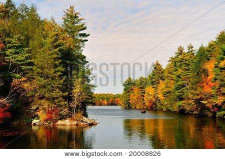 Fall Folliage at a lake