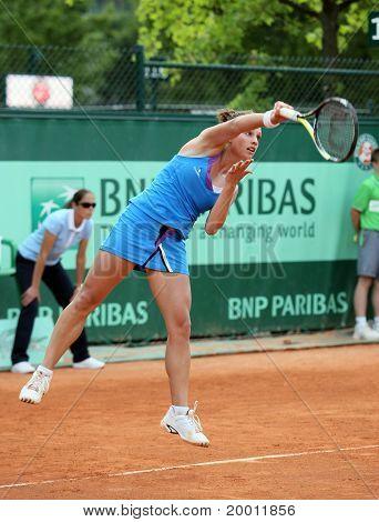 Stephanie Dubois (can) At Roland Garros 2011
