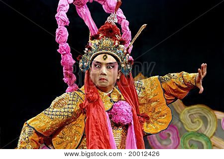 chinese traditional opera actor