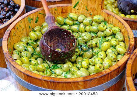 Olives Bucket