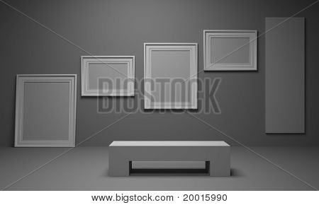 Room with a picture
