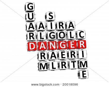 Danger Crossword