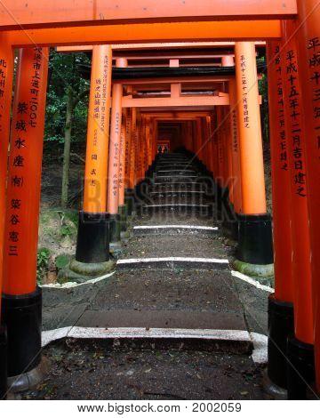 Japanese Red Gates