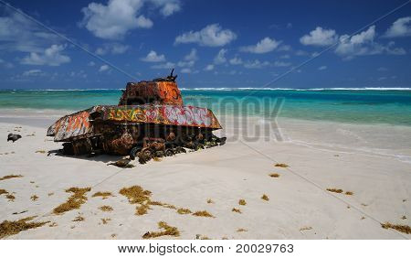 the Tank of Culebra