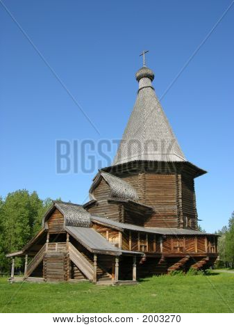 The Church Made Of Wood