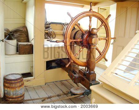 Ships Helm Wheel