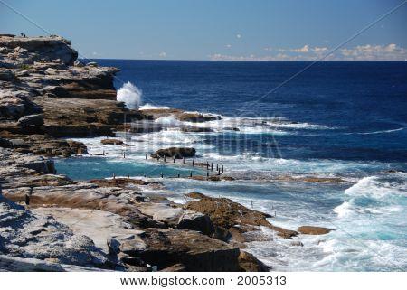Ocean Pool By Coast