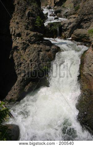 Creek Above Tower Falls