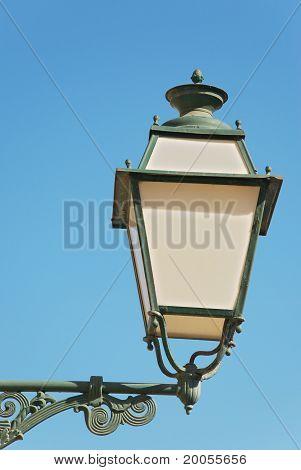 historical street lamp